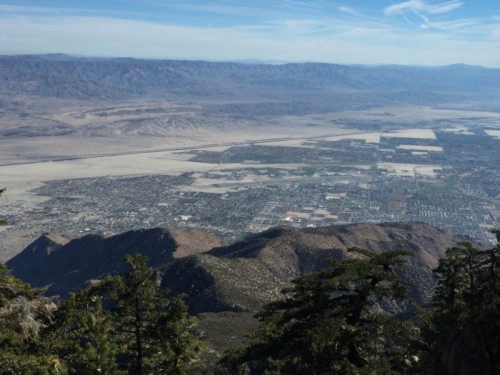 Palm Springs from Aerial Tramway