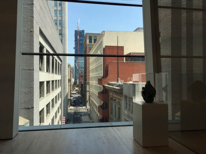 View of San Francisco from SFMOMA