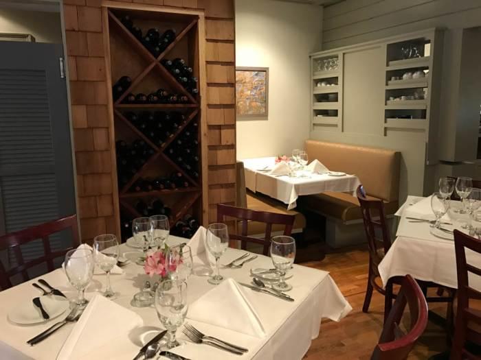 Barrington's dining room