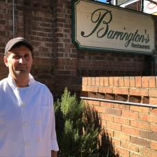 Chef Bruce Moffett's Barrington's Restaurant Stars in Charlotte