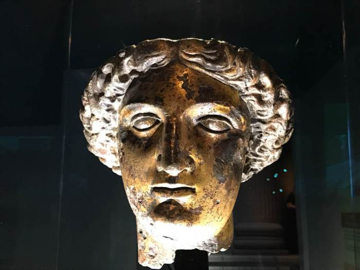 Sulis Minerva head in Bath
