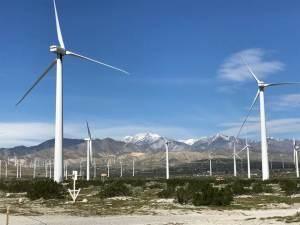 Windmills at San Gorgonio Pass Wind Park