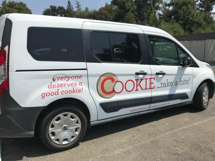 COOKIE...take a bite! van