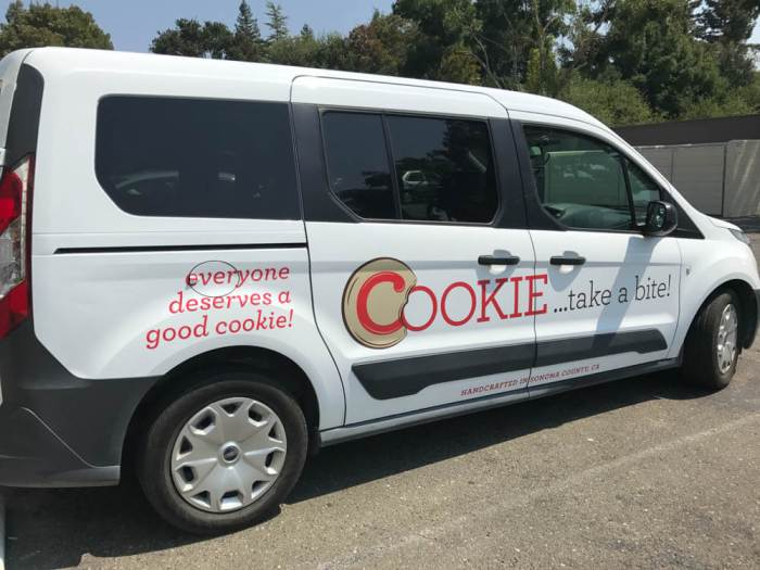 COOKIE...take a bite! van