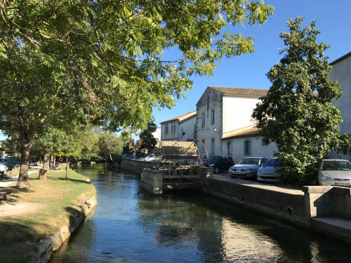 Sorgue River and water wheel