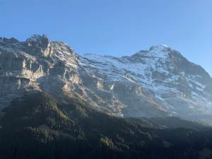 Eiger Mountain in Grindelwald