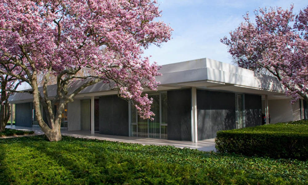Landmark Miller House Shines As Mid Century Modern Icon In Columbus, IN