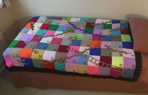 Snakes and ladders blanket