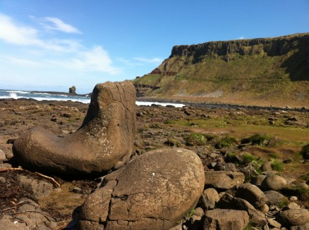 Giant's boot
