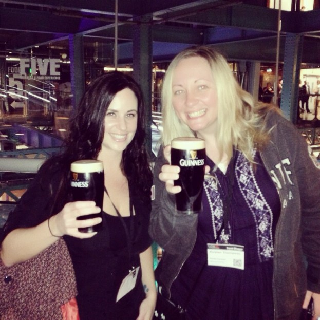 Pints @ The Guiness Storefront