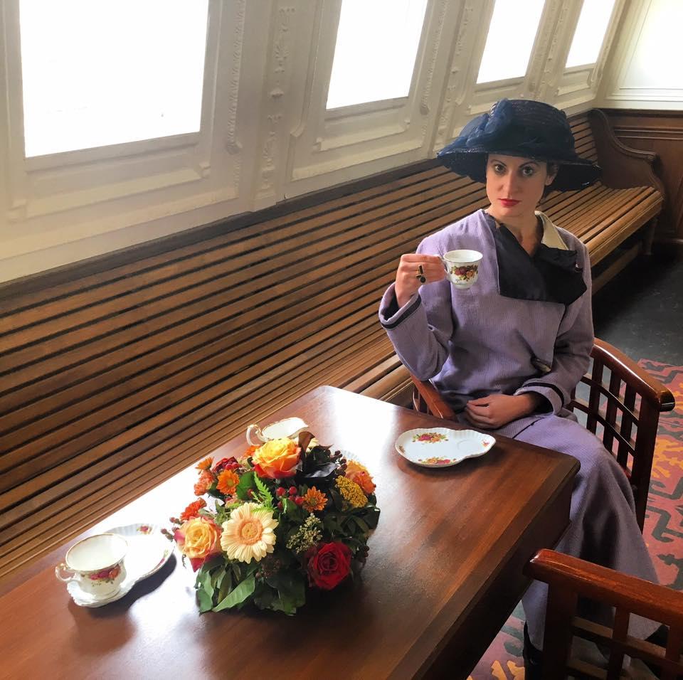 corona spill tea