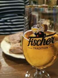 A small glass of Biere de Noel