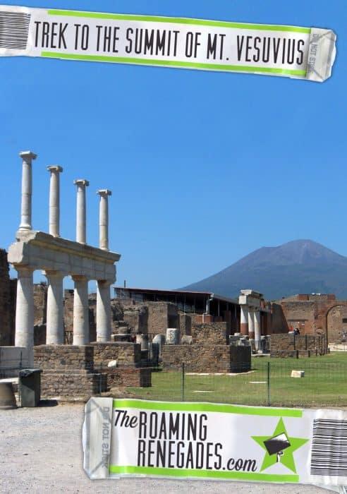 Trekking to the summit of Mt. Vesuvius! The only live volcano on mainland Europe!, pompeii, herculaeum, italy, travel, hike, explore, adventure, how to get to vesuvius, how to climb vesuvius,