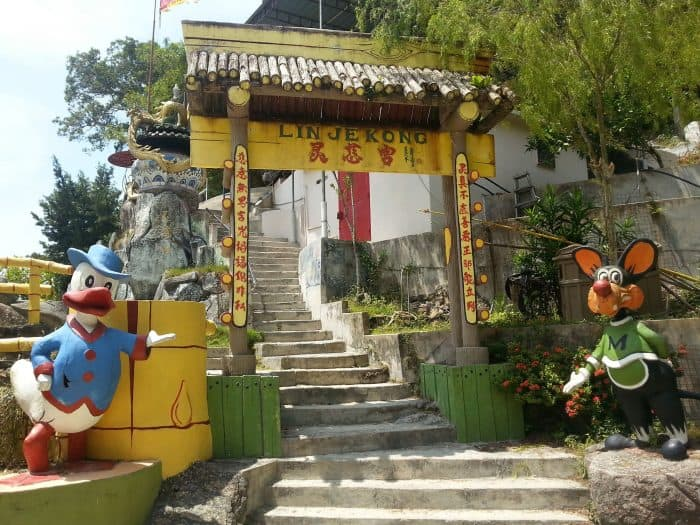 Unusual Lin Je Kong Temple on Coral Beach Pangkor Island