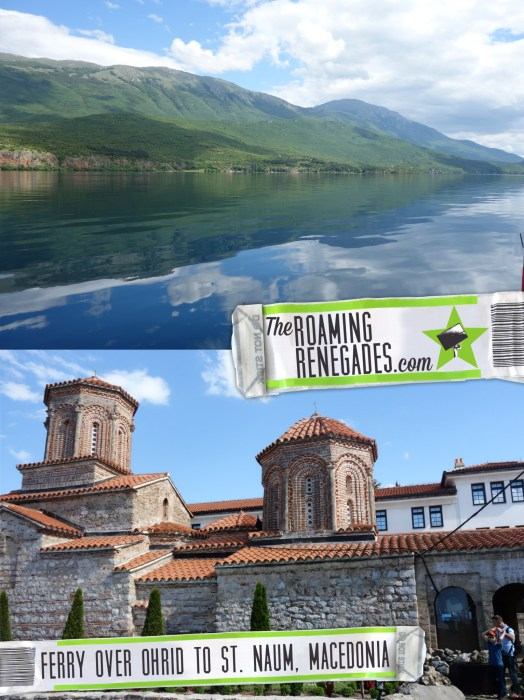 Taking the 2.5hr ferry across Lake Ohrid to the stunning St. Naum Monastery, Macedonia > https://theroamingrenegades.com/2016/08/taking-the-2-5hr-ferry-across-lake-ohrid-to-the-stunning-st-naum-monastery-macedonia.html