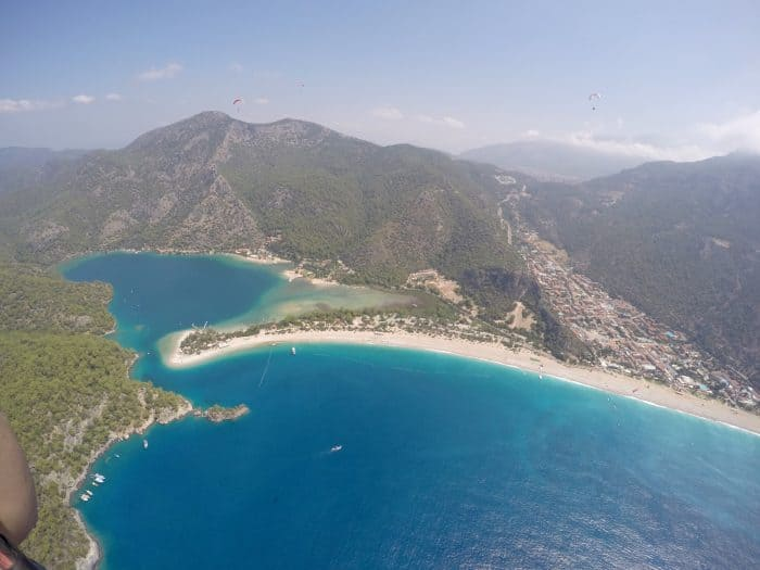 A guide to the Fethiye region of Turkey: Oludeniz, Hisaronu, Kaya. A beautiful, historic paradise, hiking, paraglide, things to do, Dalaman, holiday, views, sea, boat trip, Saklikent, butterfly valley, faralya, Turkiye, Cabak,