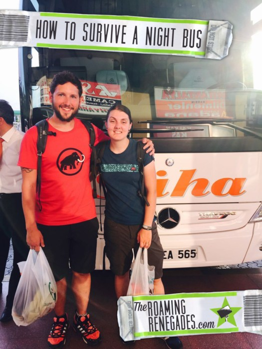 How to survive the dreaded night bus! A necessary evil when backpacking, backpacker, travelling, travel, bus, train, plane, advice, tips, packing, money, time, coach, how to,