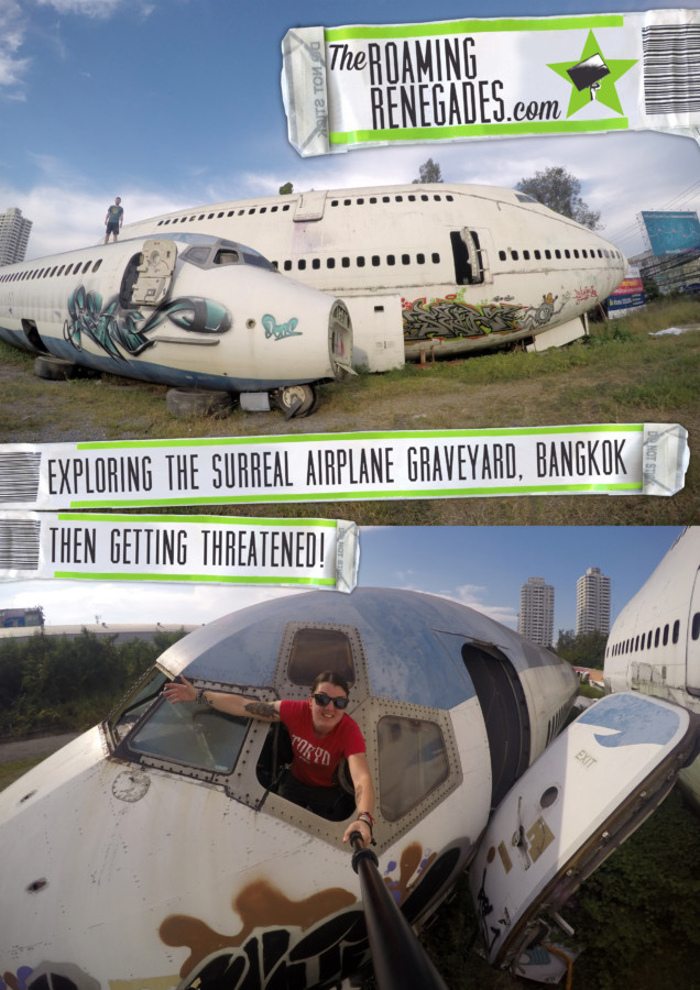 Off the beaten track Bangkok: Visiting the Airplane Graveyard & almost getting syringed by a 7 year old!