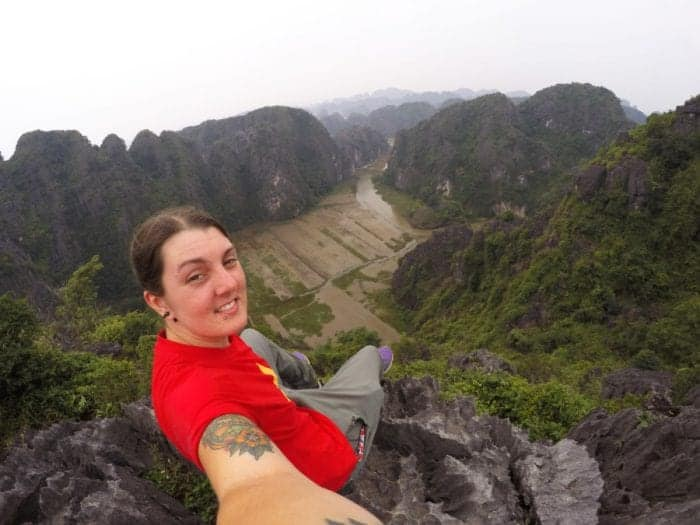 Exploring the often overlooked karst landscape of Ninh Binh, A short ride from Hanoi but a world away from the city, Ninh Binh Vietnam, Tam Coc, Bich Dong, view point, hike, free, cheap, tour, motorbike, scooter, Mua Caves, things to do in Minh Binh, what to do