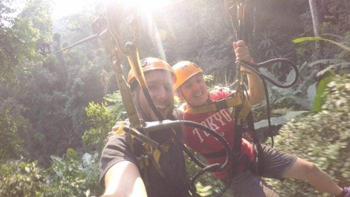 Flying through the rainforest with Flight of The Gibbon, Chiang Mai! An adventure tour with a conscience, Flight of the gibbons, zipline, zip line, longest zip line in Asia, adventure, adventure tours, things to do in Chiang Mai, What to do in Chiang Mai, places to go, things to see, rain forest, jungle, monkey, monkeys, hike, trek, nature, village, eco tour, price, distance, pick up, high ropes, Chiang Mai Tours, Gibbons zipline,