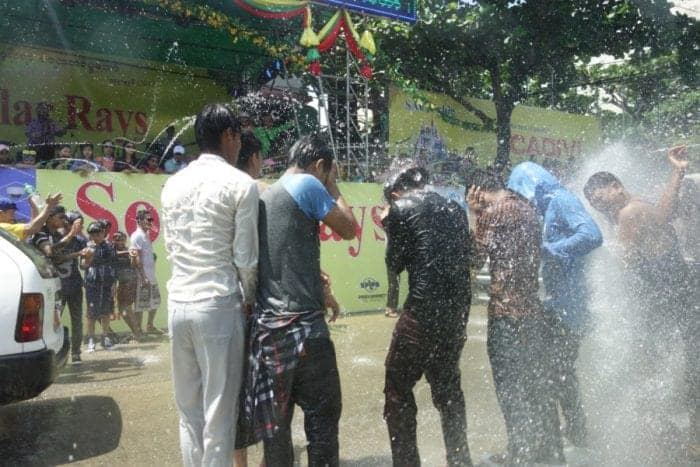 """Experiencing the amazing """"Thingyan"""" Water festival in lively Yangon, Myanmar, Burma, Myanmar New Year, Thai new year, Thailand, off the beaten track, off the beaten path, alternative to Thailand, Songkran, water fight, Bagan, Thingyan water festival, Burmese New Year, burmese water festival,"""
