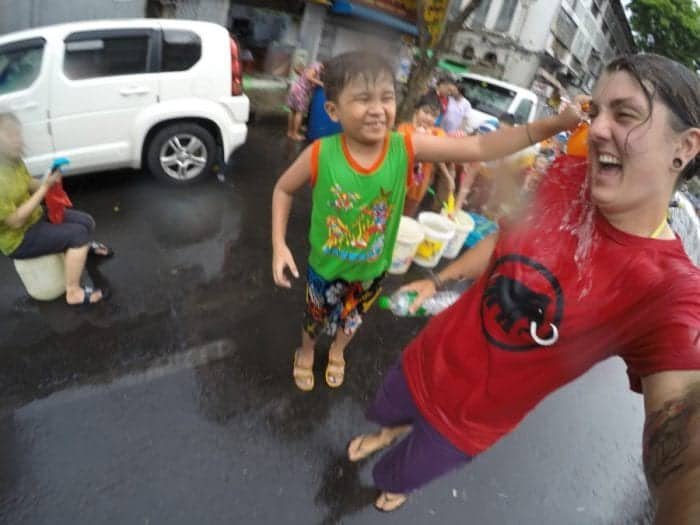 "Experiencing the amazing ""Thingyan"" Water festival in lively Yangon, Myanmar, Burma, Myanmar New Year, Thai new year, Thailand, off the beaten track, off the beaten path, alternative to Thailand, Songkran, water fight, Bagan, Thingyan water festival, Burmese New Year, burmese water festival,"