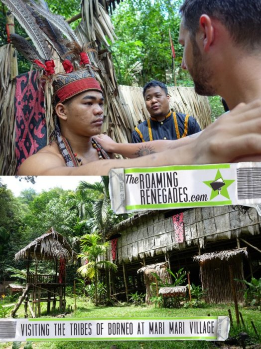 Experiencing the unique culture of Borneo up close and personal at the Mari Mari culture village. Plus, Where to stay in Kota Kinabalu!