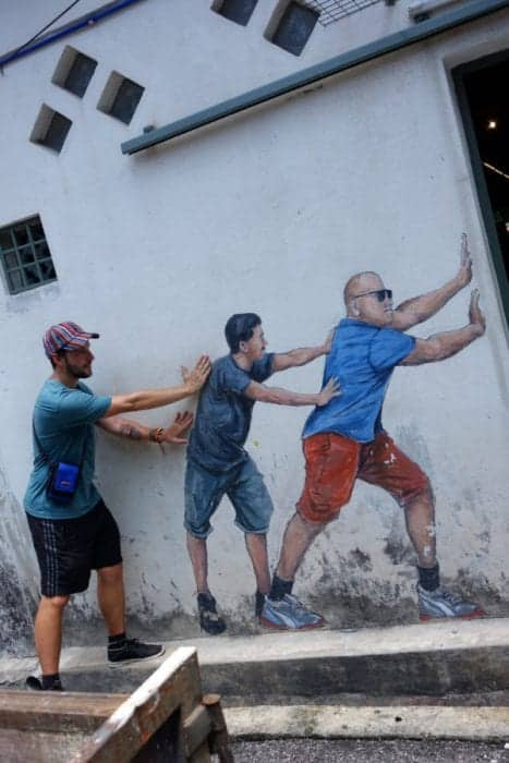 The amazing, creative and interactive street art of Georgetown, Penang, Malaysia.