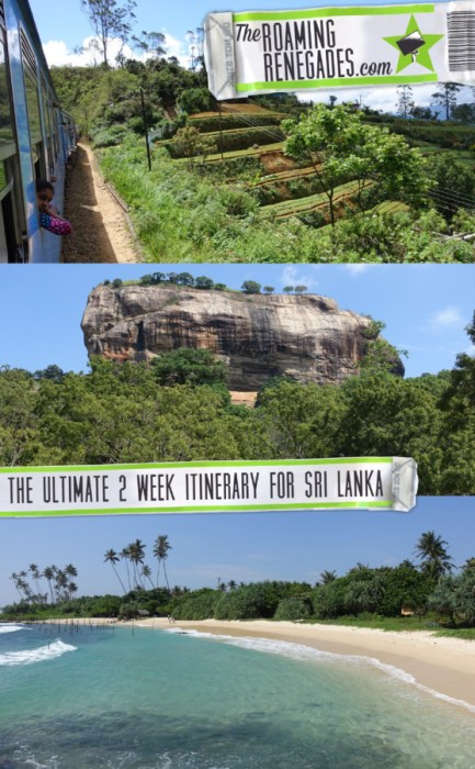 The perfect two week Sri Lanka itinerary to explore the best of this beautiful country > https://theroamingrenegades.com/2018/05/two-week-sri-lanka-itinerary-top-things-to-do-in-sri-lanka.html | #travel #SriLanka #Holiday #Vacation #Asia #Asiatravel #Budgettravel #travelling #traveling #backpacking #adventure