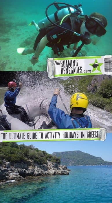 The Ultimate Guide To An Activity Holiday in Greece: More Than Just Beaches and Ruins, Scuba Diving, White Water Rafting, Climbing, Bouldering, hiking, mountains, Kalymnos, Kos, Crete, Surfing in Greece, sea kayak, quad, atv, tours in Greece, adventure activities in Greece,