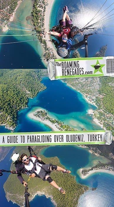 Paragliding off Babadag Mountain and landing on the stunning Blue Lagoon Beach in Oludeniz, Turkey!