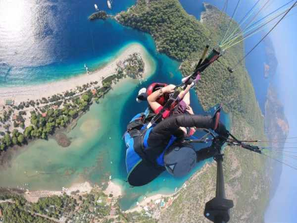 Go Pro image paragliding over Oludeniz beach in Turkey,  travel photography tips for beginners, Tips on travel photography, tips for travel photography, tips for better travel photos, How to take better photos, composition, Street photography, portrait photography, landscape photography,