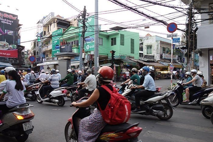 things to do in Ho Chi Minh City, Saigon, things to see, war, war remnants, independence palace, statue, notre dame cathedral, tank, tunnels, helicopter, vietnam, north vietnam, American army, fall of Saigon, motorbikes, scooters, off the beaten track, off the beaten path, different things to see, propaganda, hammer and sickle,