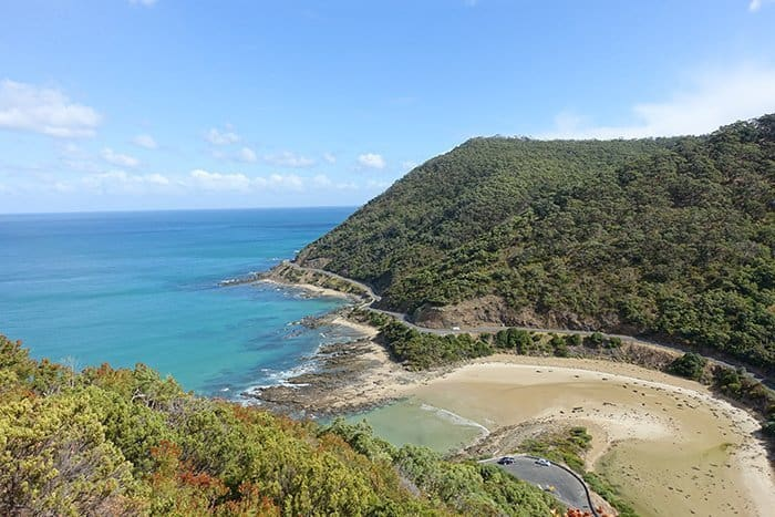 Melbourne 5 day itinerary: best places to visit in Melbourne. Teddys Look out in Lorne on Great Ocean Road.