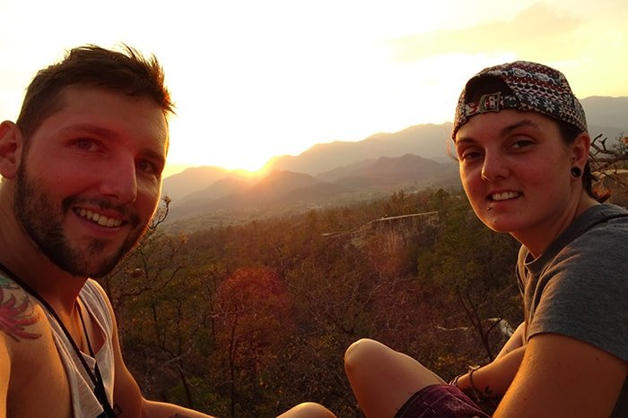 The Best Adventurous Things To Do in Thailand For Backpackers, Pai Canyon, Sun Set, Chiang Mai,