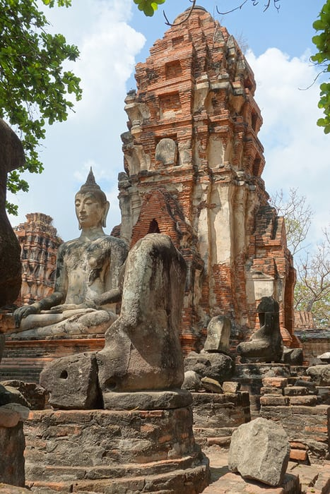 The Best Adventurous Things To Do in Thailand For Backpackers, Ayutthaya, Temples, Siam