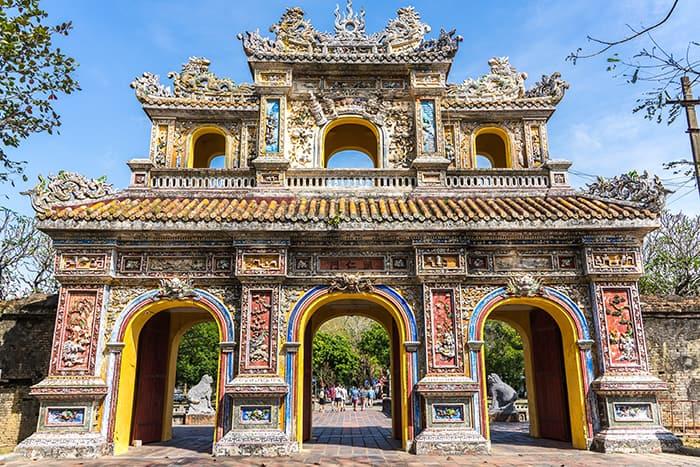 The citadel of Hue. 3 weeks in Vietnam, Vietnam itinerary: 3 weeks, 3 week Vietnam itinerary