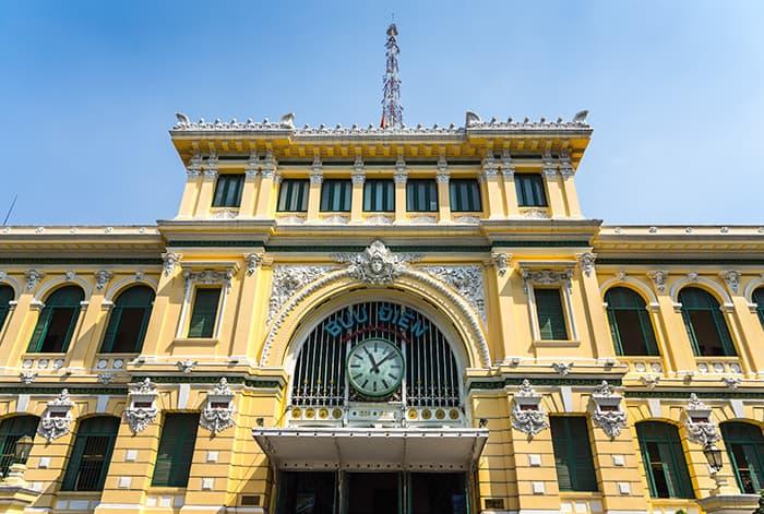 Saigon post office. 3 weeks in Vietnam, Vietnam itinerary: 3 weeks, 3 week Vietnam itinerary