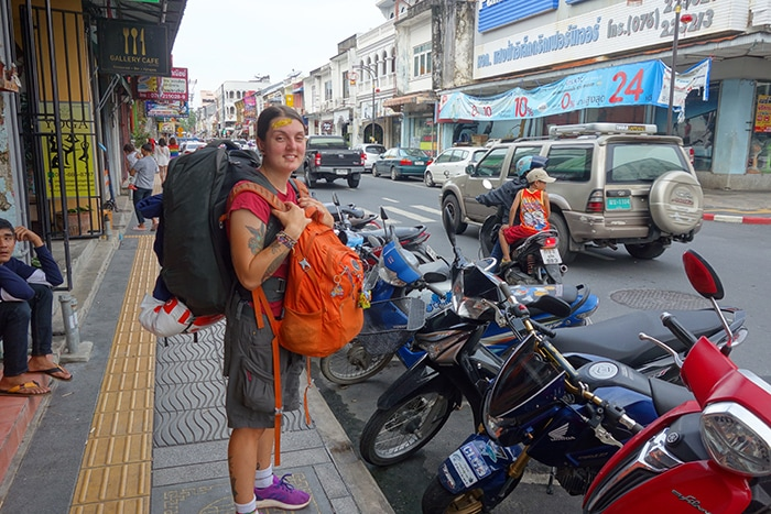 Backpacking in Phuket Old Town, (Phuket backpacking guide, budget Phuket, Phuket backpacker, Backpackers guide to Phuket, Phuket backpacker hostel, Best area to stay in Phuket, backpacking Thailand)