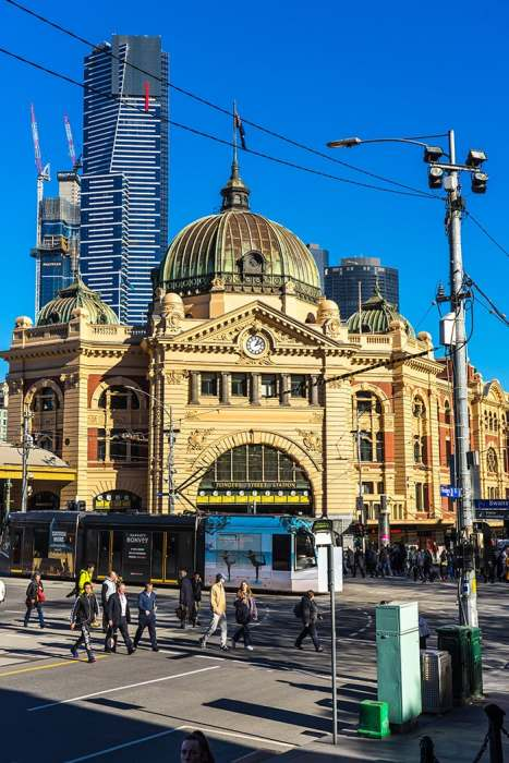 Flinders street train station. (cheap activities in Melbourne, Free museum Melbourne, Non touristy things to do in Melbourne, Melbourne on a budget, Backpacker in Melbourne, Backpacking in Melbourne, Backpacker things to do in Melbourne, Free things to do in Melbourne today, Free fun things to do in Melbourne CBD, Free things to do in Victoria, Free places to visit in Melbourne, Things To do in Melbourne free, Free stuff to do in Melbourne, Free fun things to do in Melbourne, What to do in Melbourne for free, Things to do for free in Melbourne, Free activities Melbourne, Things to do in Melbourne for free, Melbourne free things to do, Cheap things to do in Melbourne, free things to do in Melbourne)