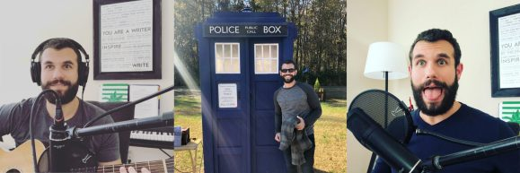 Yep, I'm a Doctor Who fan, and it's my purpose to Teach in every way. Through music, through my podcast, through tutoring, my courses, and hopefully by how I live.
