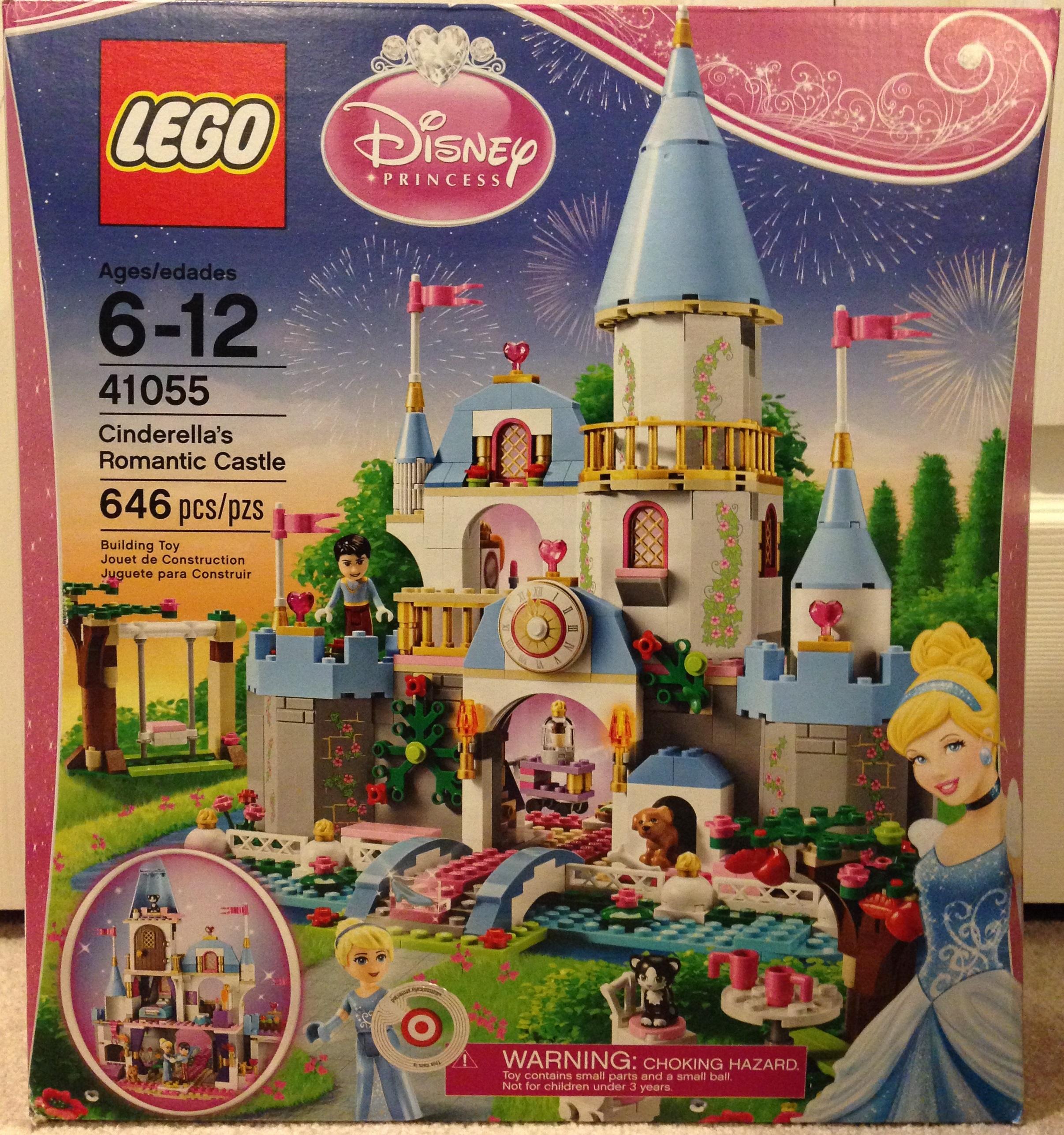 Romantic 41055Cinderella's The Lego Roarbots Castle uOPXZiTwk
