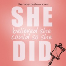 SHE DID.