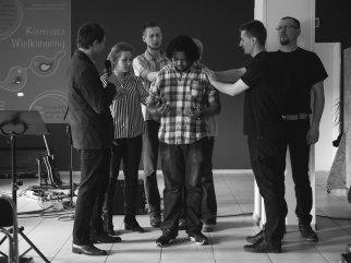 Nasz przyjaciel Pedro po kilku miesiącach pobytu we Wrocławiu wraca do Portugalii. Modliliśmy się za niego, błogosławiliśmy i dziękowaliśmy za jego zaangażowanie, pracę i poświęcenie. Do zobaczenia w przyszłości...