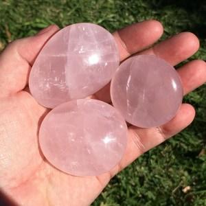 rose quartz gallets