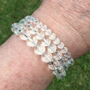 clear quartz bracelets
