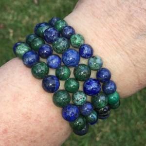 azurite malachite bracelets