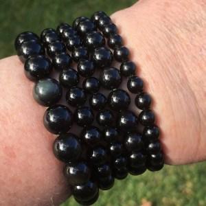 Obsidian Bracelets