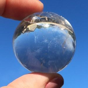 clear quartz sphere 7