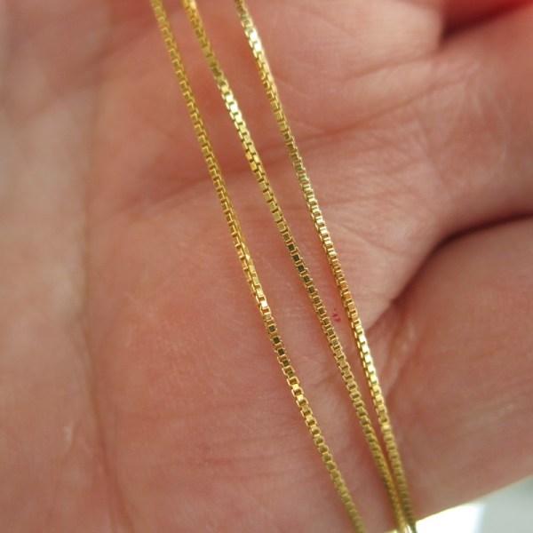 Gold Chains - Box - Fine